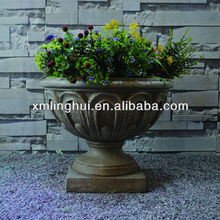 Europe Style Trophy Fiberglass African Violet Pots