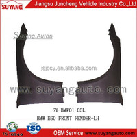 Suyang Good Selling New Item for BMW E60 Front Fender Auto Metal Body Parts