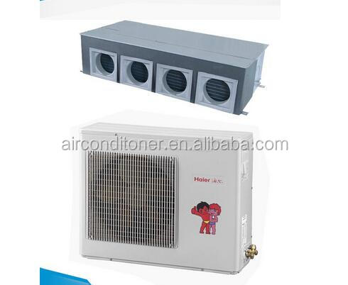 2017 the most saving ducted split air conditioner with R410a inverter