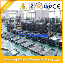 Powder Coating Aluminum Mounted Window/Home Decoration Mounted Window/ System windows Prouducts