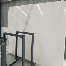 Polished White Color statuario marble