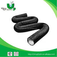 pvc air conditioning duct for hydroponics /hot air duct