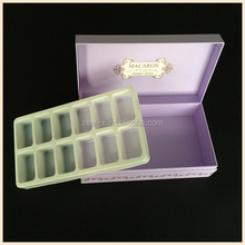 Logo printing matte essential oil package box cardboard gift boxes with foam insert