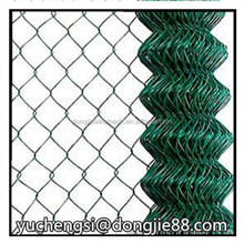 DJ hot-dipped galvanized chain link fence high tensile