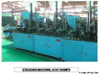 Cast on Strap (COS) & Stacking Machine for Motorcycle Batteries