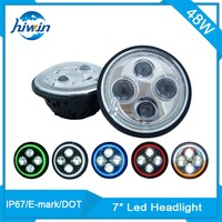 Best quality DRL round harley 7 inch headlights