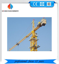 Self rising QTZ Series construction moving tower crane with high quality