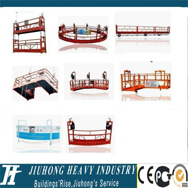 Lift work gondola zlp1000 rope manual scaffolding cradle construction
