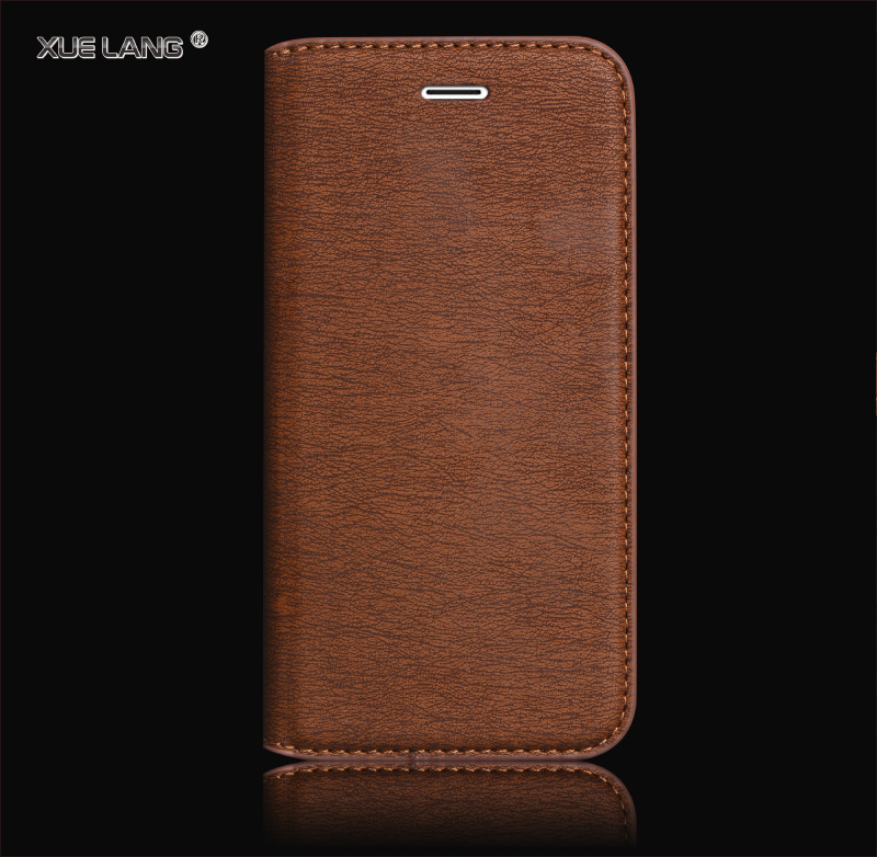 china factory OEM leather mobile phone leather case with cards holder for s4 samsung galaxy