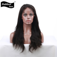 Virgin Brazilian Straight Human Hair Lace Wig Hair Unprocessed Guleles Full Lace/Lace Front Wigs for Black Women