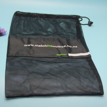 Hot sale portable mesh material golf ball pouch
