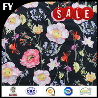 FREE SAMPLE Factory digital print polyester cdc fabric