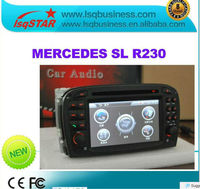 LSQ Star Car DVD Player For Mercedes-benz SL-Class R230 2001-2004 With GPS Navigation Bluetooth full function
