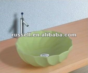 sanitaryware wash basin toilet green color