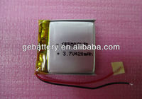 High quality li-ion battery 3.7v 600mah For iPod Video with tool China factory wholesale