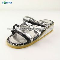 Pretty and cute high heel EVA sandal for girl 2013