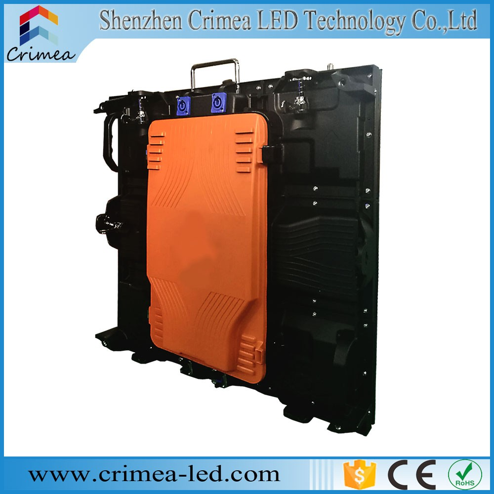 Car Usage Usage and Full Color Tube Chip Color customized led display P6 die-casting led display