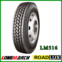 Wholesale China Semi Truck Tires factory 295/75R 22.5 11R22.5 11R24.5 Chinese Steer Drive Trailer Tire manufacturer