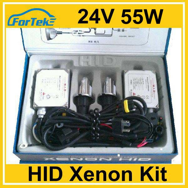 Car Headlight regular kit xenon HID H4 Swing 55W 24V AC 4300K 18 months warranty