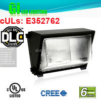 hot new products for 2014 DLC UL CUL listed LED wall pack light fixture