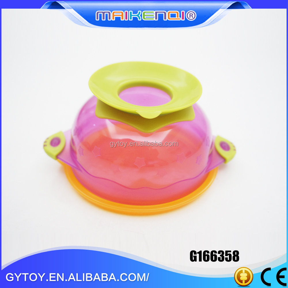 Beautiful Hot Sale recycled plastic baby suction bowls and bowl set