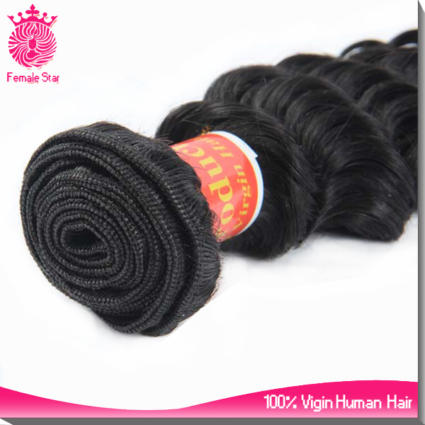 guangzhou hair salon equipment 7a 100% brazilian deep curly unprocessed virgin hair