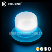 RGB 16 color changing light led lamp bulb for illuminating furniture table chair with remote control 4 level brightness dimmable
