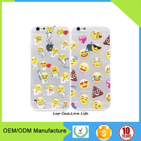 Kinds of face Emoji Phone accessories Case For iPhone 6