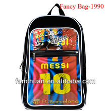 fashion vinyl football club back bags