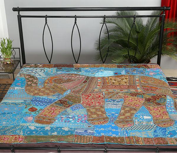 couvre lits en patchwork indien dessins drap de lit couvre lit id de produit 600001139048 french. Black Bedroom Furniture Sets. Home Design Ideas