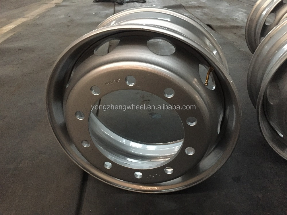 high quality steel wheel rim for truck 22.5*9.00