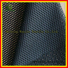black poly tricot fabric mesh for chair