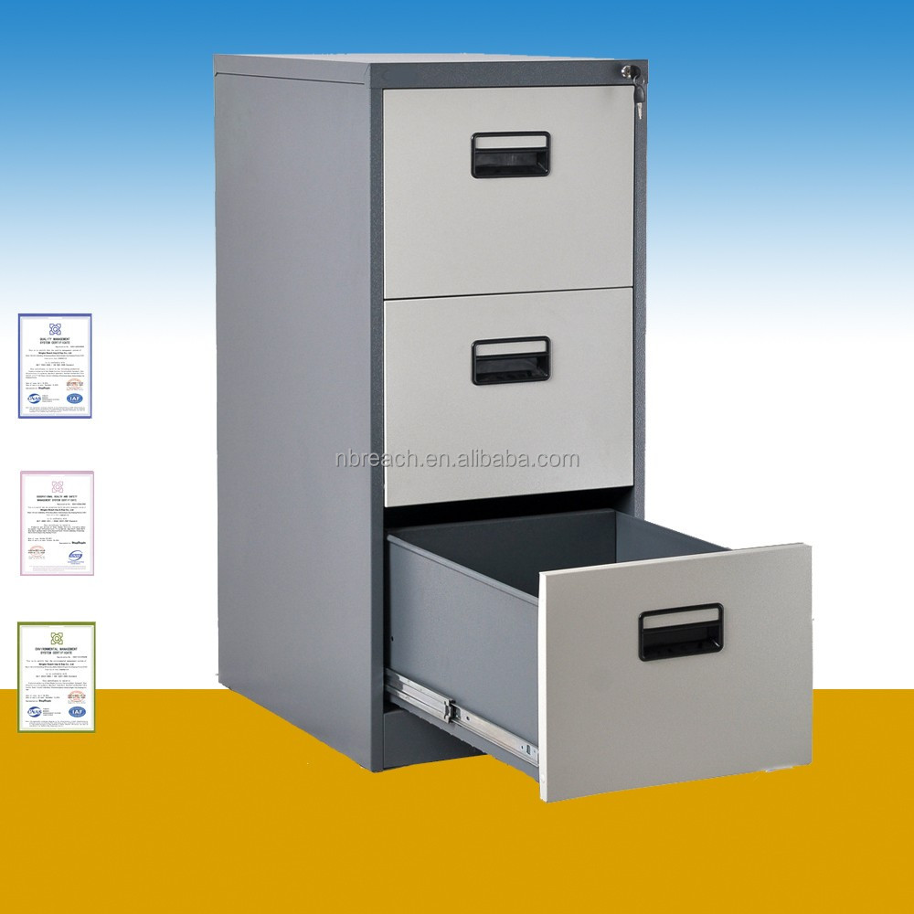 Cole acier bureau pas cher vertical index card classeur 3 tiroir bureau classeur classeur - Classeur de bureau pas cher ...