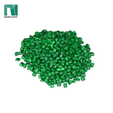 Colorant masterbatch green color