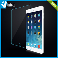 Anti fingerprint tempered glass screen protector sheet for iPad Air , iPad Mini