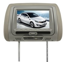 Car Headrest 7 inch DVD Player