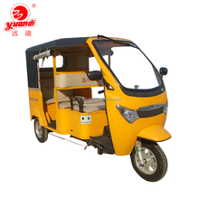 60V 1000W Electric and Gasoline Three Wheel Tricycle