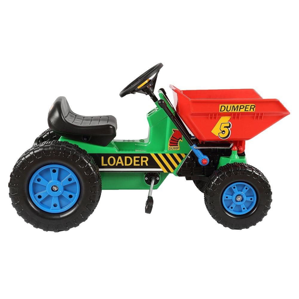 enfants tour sur tracteurs jouets en plastique p dale. Black Bedroom Furniture Sets. Home Design Ideas