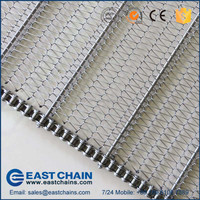 Long using life stainless steel conveyor belt wire mesh
