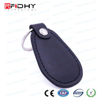 Including Metal Keychain Ring passive rfid key fobs with laser number