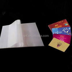 A4 PVC coated overlay film for lamination