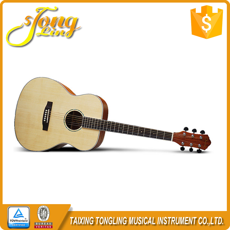 The Solid Natural Wooden Cheapest Prices High Quality Professional Acoustic Guitar TL-0052