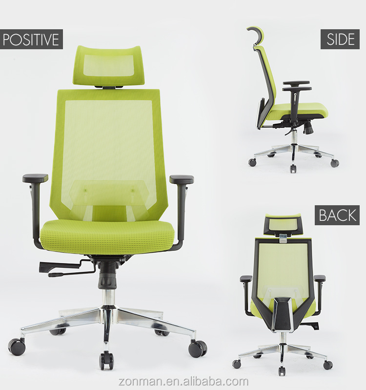 Ergonomic Design Computer Mesh Chair , High Back Office Chair