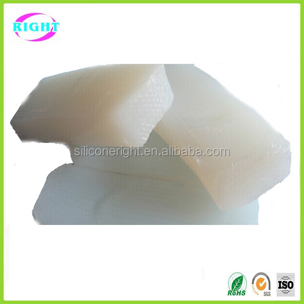 Price of silicone rubber raw material made in china