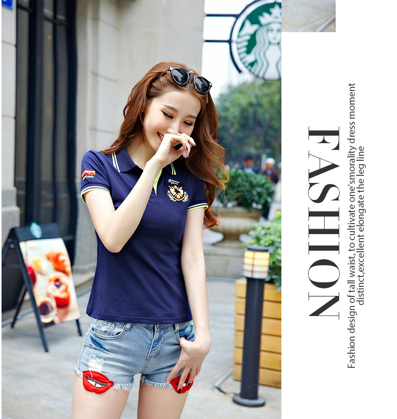 T-shirts polo,polo shirts for women