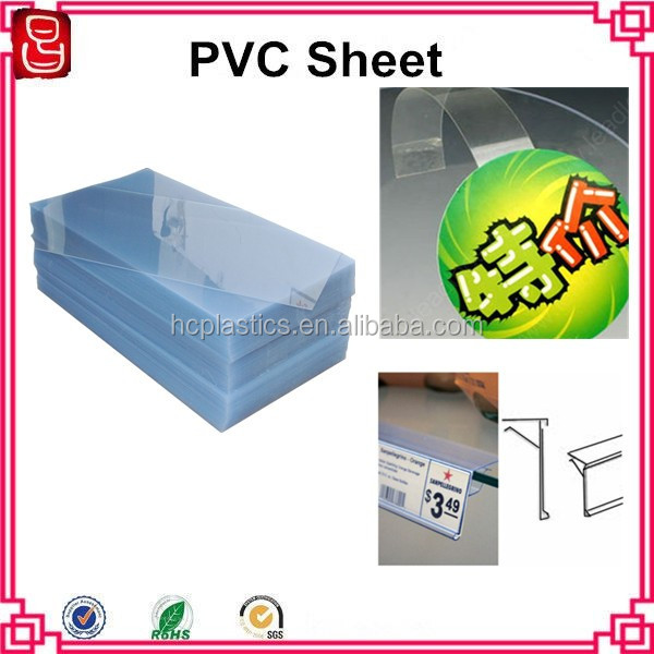 Self Adhesive Transparent PVC Rigid Sheet for Photo Album