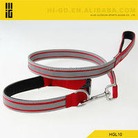 2014 unique pet products wholesale reflective nylon dog leash for dogs