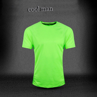 Sports short sleeve T - shirts running Absorbing sweat fitness men's Sport t shirt