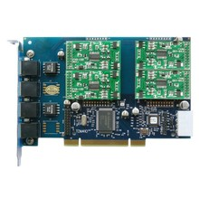 TDM410P with 4 FXO/S ports-PCI FXS FXO card Analog Card TDM400 TDM410 digium FXO board x100p