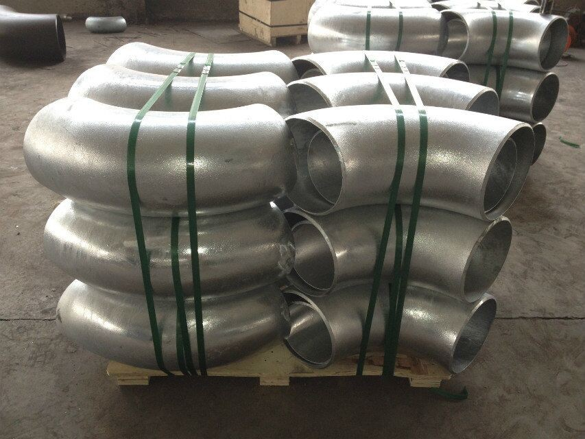 ASME B16.25 Galvanized/Balck Butt Welded Pipe Fittings